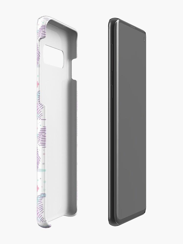 Alternate view of Spring Hedgehog Pattern Case & Skin for Samsung Galaxy