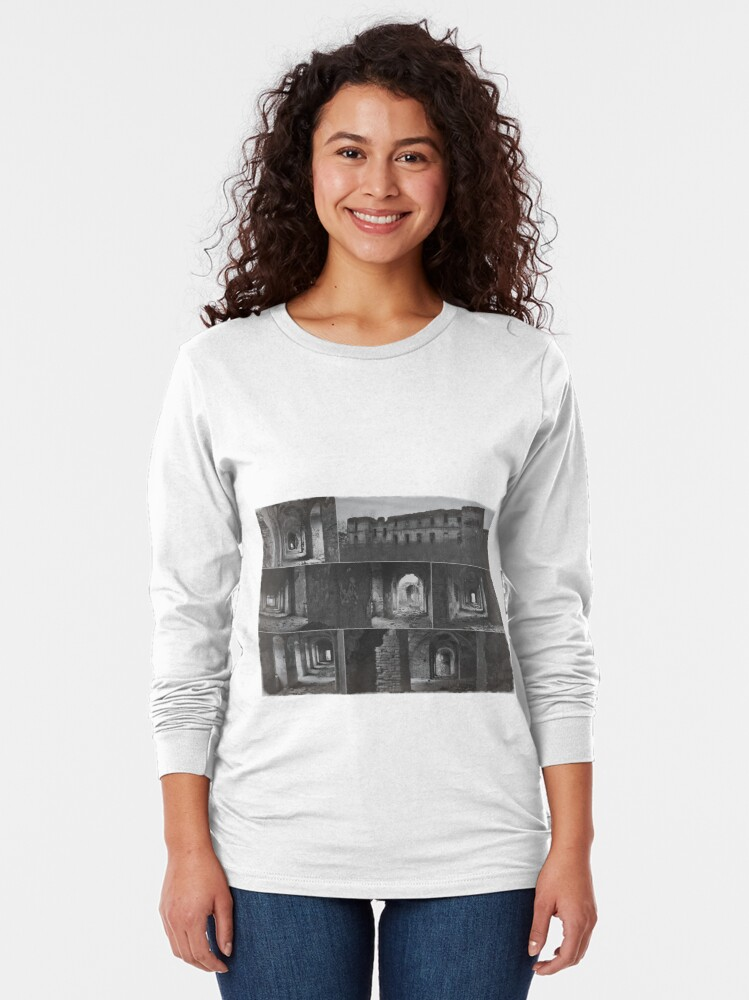 Alternate view of Monastery collage Long Sleeve T-Shirt
