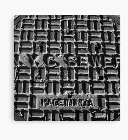 made in india, nyc Canvas Print