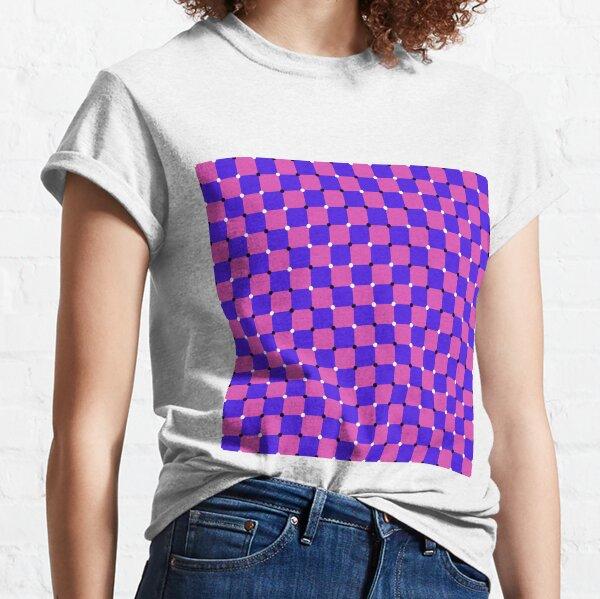 #MOVING #EYE #ILLUSION #Pattern, design, circular, abstract, illustration, art, grid, proportion, symmetrical Classic T-Shirt