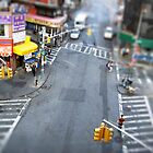 New York City Crossroad Miniature by Reinvention