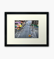 New York City Crossroad Miniature Framed Print