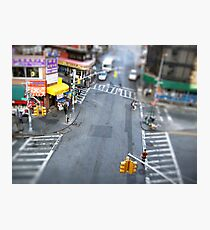 New York City Crossroad Miniature Photographic Print