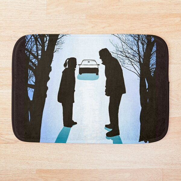 X Files We lost 9 minutes by Mimie Bath Mat