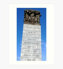 The Cenotaph - Melbourne Art Print