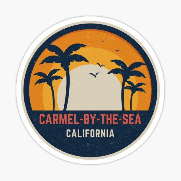 Carmel-by-the-Sea California Sticker