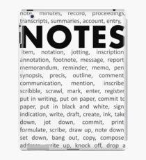 Notes! iPad Case/Skin