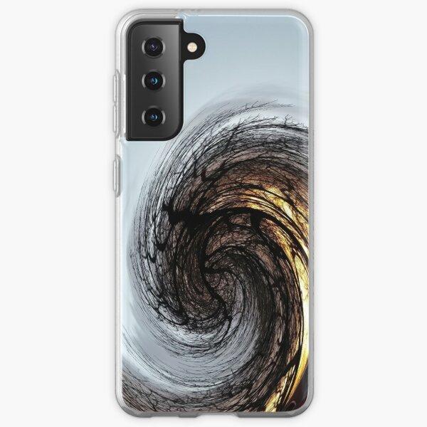#MOVING #EYE #ILLUSION #Pattern, design, circular, abstract, illustration, art, grid, proportion, symmetrical Samsung Galaxy Soft Case