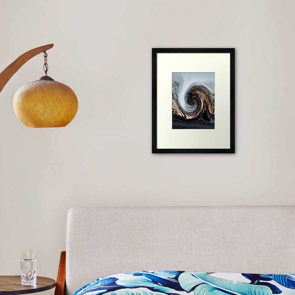 #MOVING #EYE #ILLUSION #Pattern, design, circular, abstract, illustration, art, grid, proportion, symmetrical Framed Art Print