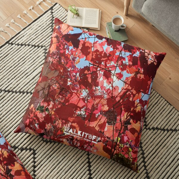 """WALKITOFF """"Natural Landscapes - Valley View"""" Floor Pillow"""