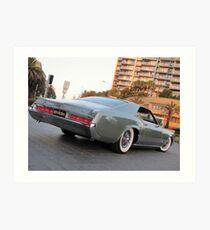 Riviera Visual - 1966 Buick Riviera Art Print
