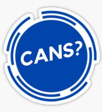 Cans? Sticker