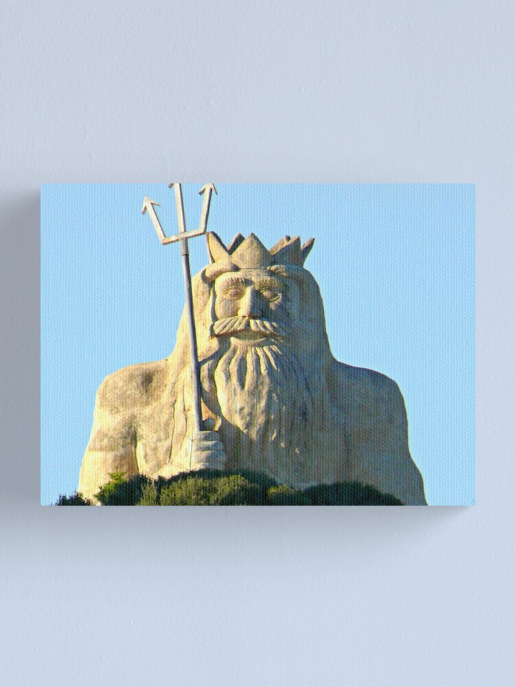 Alternate view of King Neptune    Two Rocks   Western Australia Canvas Print