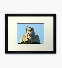King Neptune    Two Rocks   Western Australia Framed Print