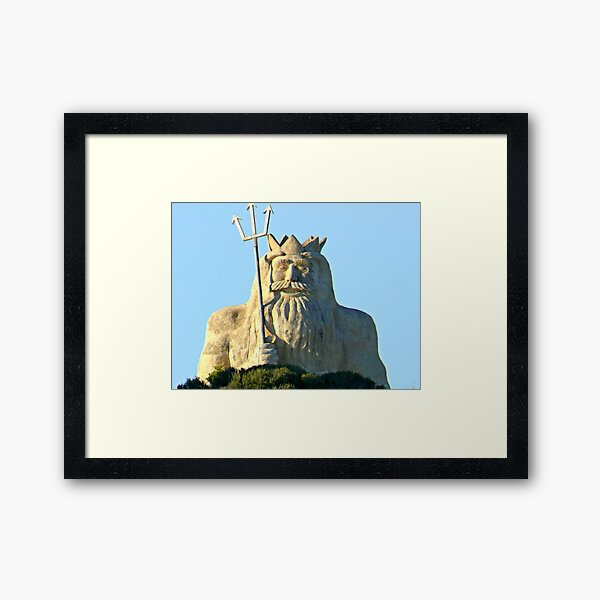King Neptune    Two Rocks   Western Australia Framed Art Print
