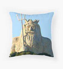 King Neptune    Two Rocks   Western Australia Throw Pillow