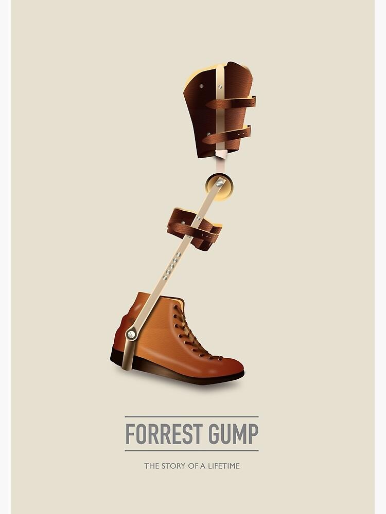 Forrest Gump - Alternative Movie Poster by MoviePosterBoy
