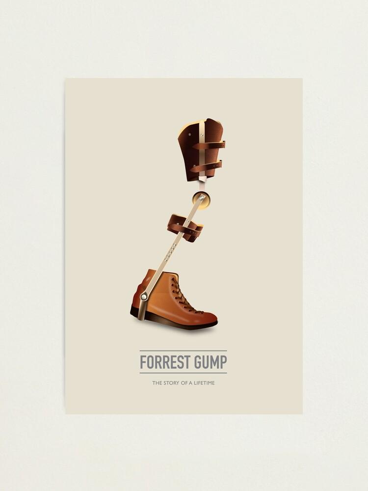 Alternate view of Forrest Gump - Alternative Movie Poster Photographic Print
