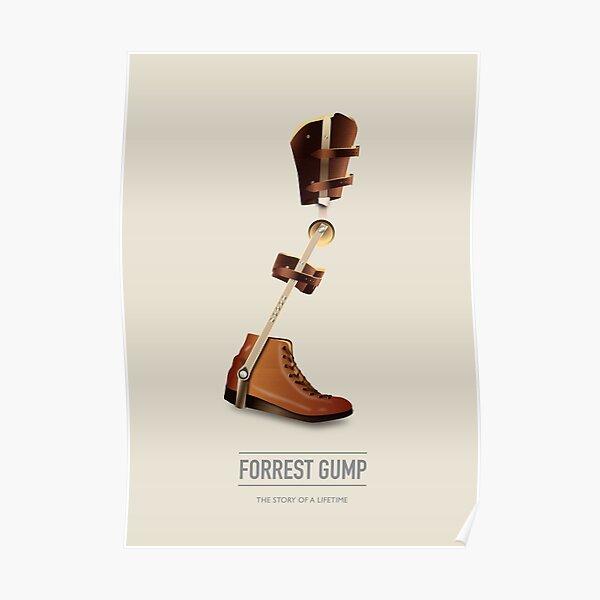 Forrest Gump - Alternative Movie Poster Poster