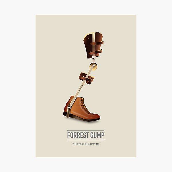 Forrest Gump - Alternative Movie Poster Photographic Print