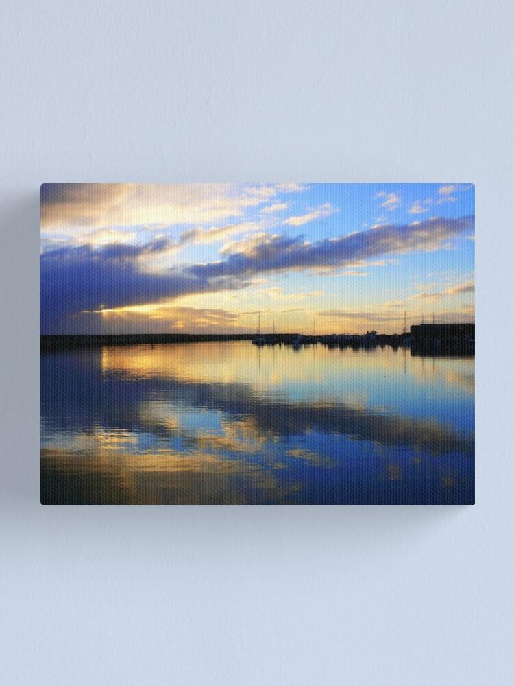Alternate view of Two Rocks Marina   Western Australia Canvas Print