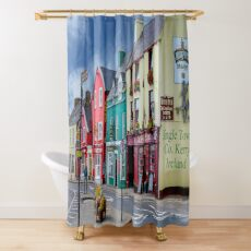 Dingle Town Co. Kerry, Ireland Shower Curtain