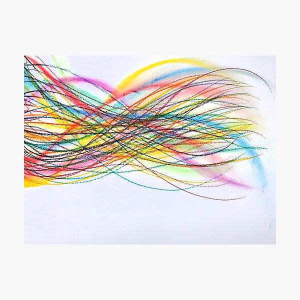 ADN - dessin - motifs Impression photo