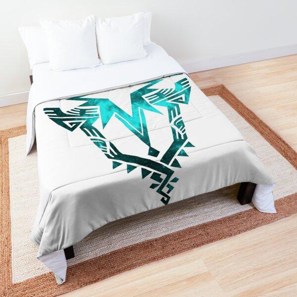 Monster Hunter World: Iceborne - Logo (Galaxy Design) Comforter