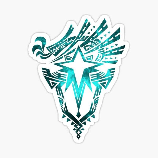 Monster Hunter World: Iceborne - Logo (Conception Galaxy) Sticker