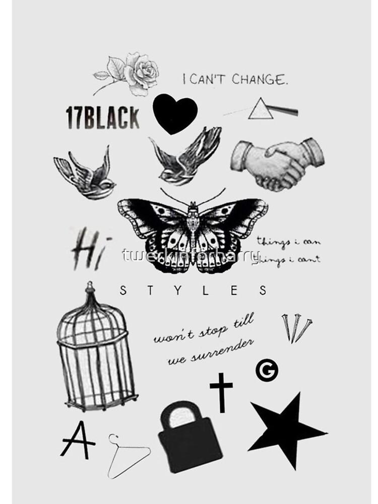 Harry's Tattoos Case von AlleyNickels