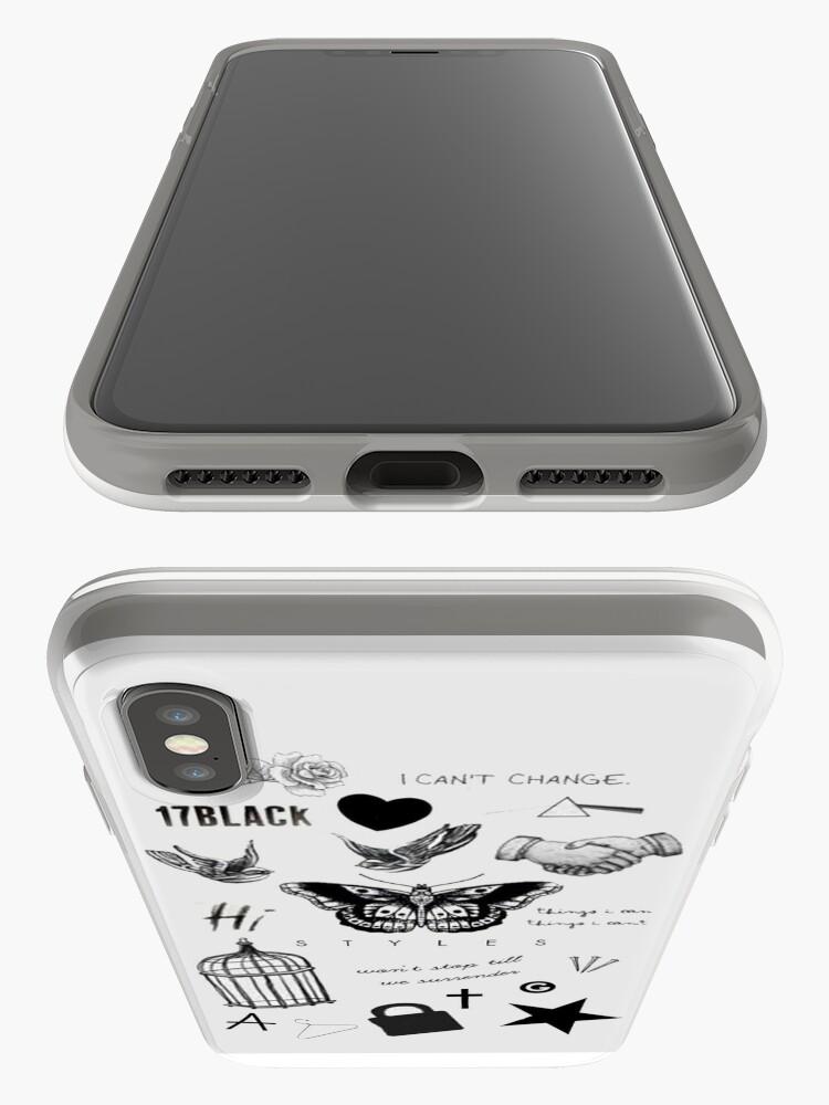 Alternative Ansicht von Harry's Tattoos Case iPhone-Hüllen & Cover