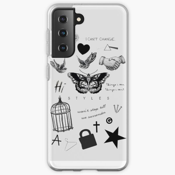 Harry's Tattoos Case Funda blanda para Samsung Galaxy