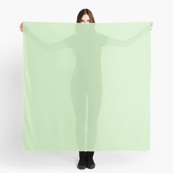 color tea green Scarf