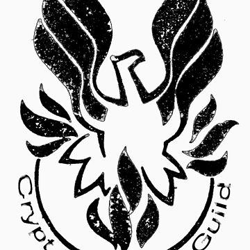 Crypt Designers Guild - Phoenix Black by CryptDesigners