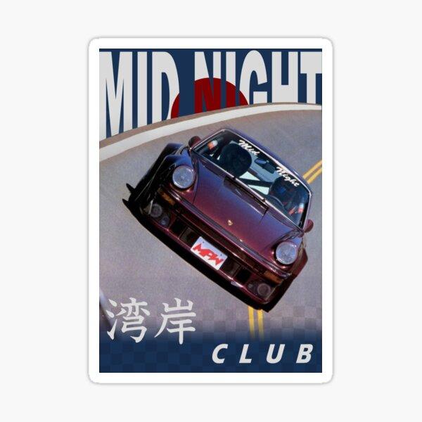 Mid Night Club Japan - Porsche 911 Sticker