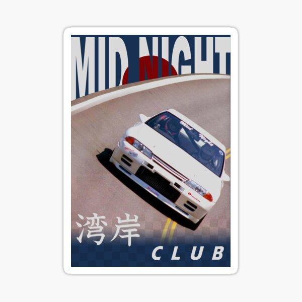 Mid Night Club Japan - Nissan R32 Sticker