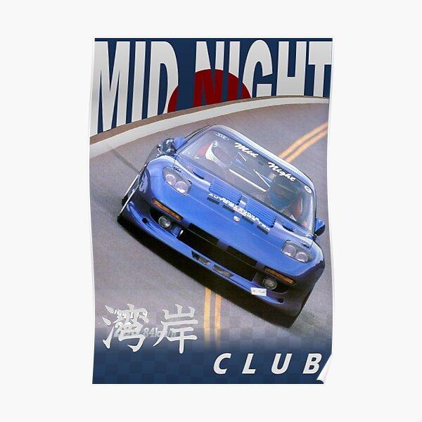 Mid Night Club Japan - Mazda RX7 Poster