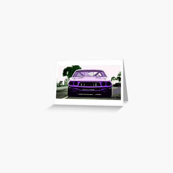 1973 Dodge Challenger Greeting Card