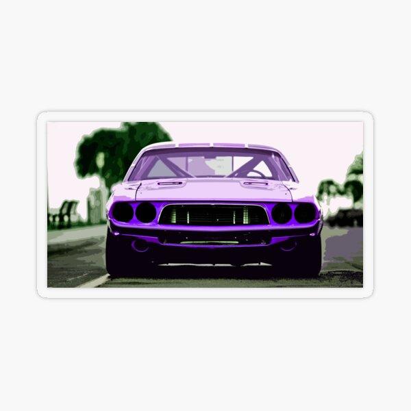 1973 Dodge Challenger Transparent Sticker