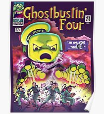 The Ghostbustin Four #49 Poster
