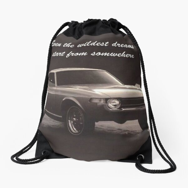 Dreams Come True - Toyota Celica TA22 Concept Drawstring Bag