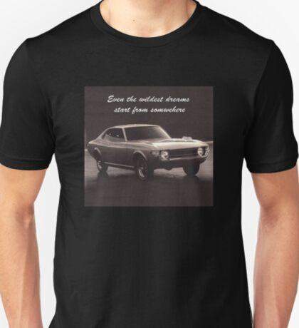 Dreams Come True - Toyota Celica TA22 Concept T-Shirt