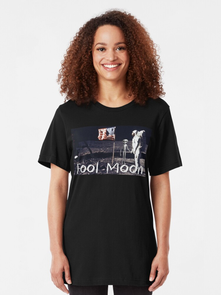 Alternate view of Fool Moon Slim Fit T-Shirt