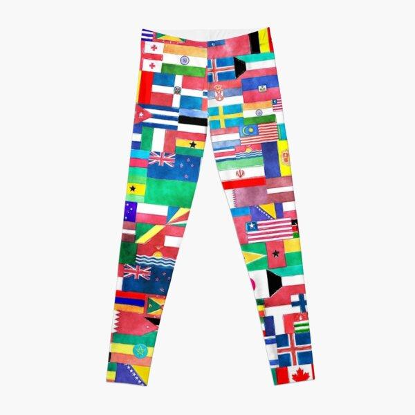 World of Flags Leggings