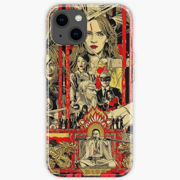 Kill Bill - The Whole Bloody Affair iPhone Soft Case