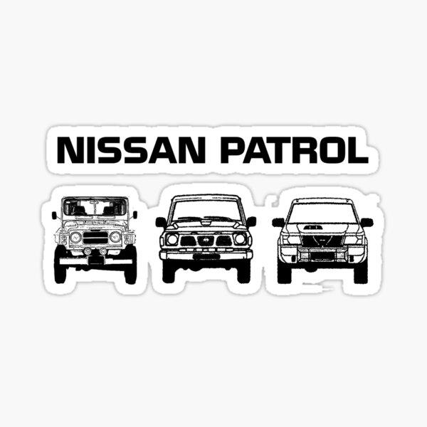 Línea de Nissan Patrol G60 GQ GU Pegatina