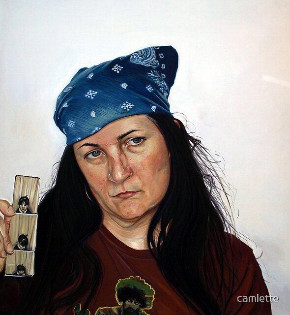 American Portrait, Self ID by Cameron Hampton