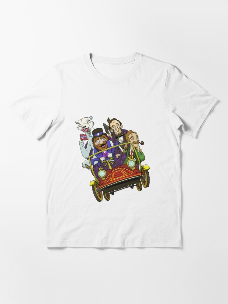 Alternate view of Animatronicans Car Logo Essential T-Shirt