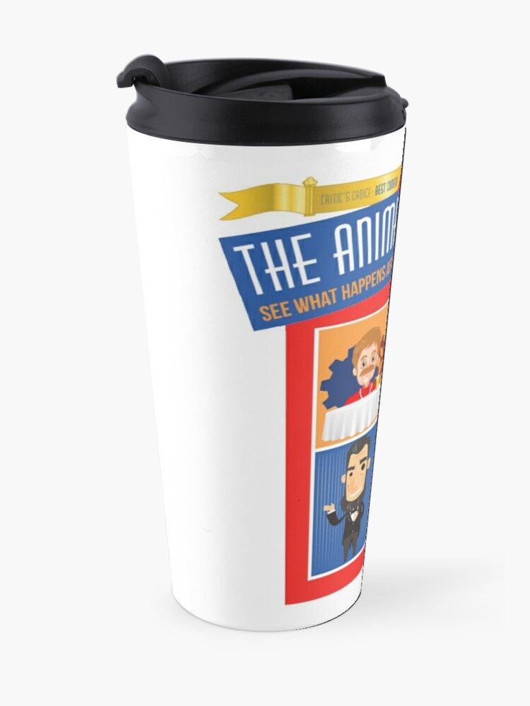 Alternate view of Animatronicans Classic Original logo Travel Mug