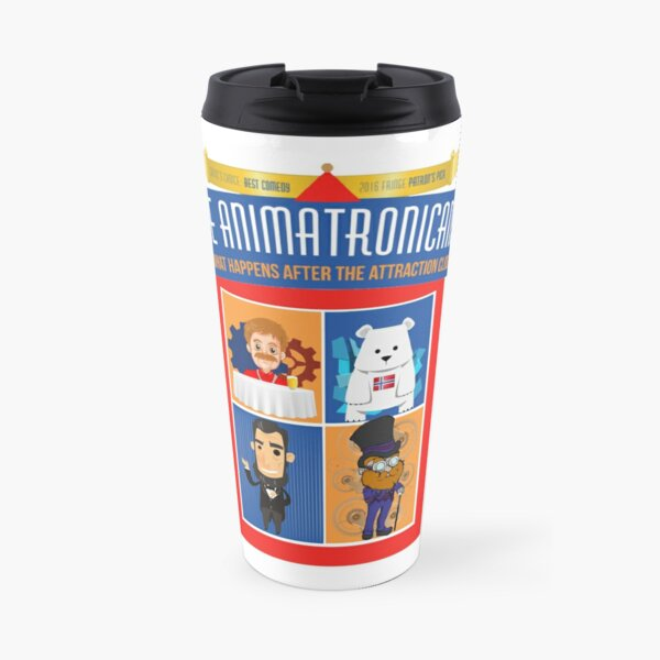 Animatronicans Classic Original logo Travel Mug